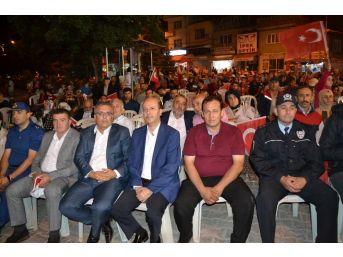 Şuhut'ta Demokrasi Nöbetine Vatandaşlar Akın Etti