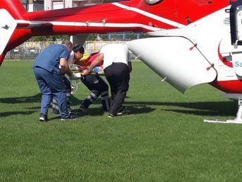 Hava Ambulansı, Minik Tevfik İçin Havalandı