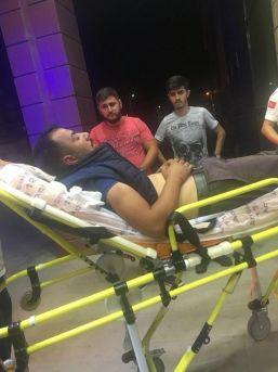 Maganda Kurşununa Hedef Olan Su Satıcısı Yaralandı