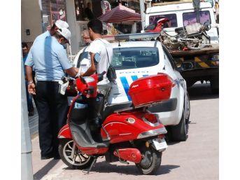 Aydın Polisi Motosiklet Denetimlerini Sıklaştırdı