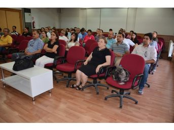 Aydın'da Akdeniz Meyve Sineği Eğitim Toplantısı Yapıldı