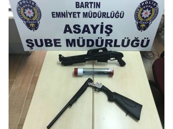 Katil Zanlılarının Evlerinde Silahlar Ele Geçirildi