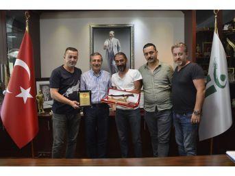Avcılardan Başkan Ataç'a Teşekkür