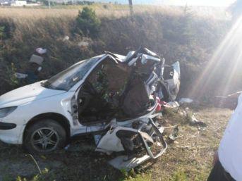 Eskişehir'de Trafik Kazası; 11 Yaralı