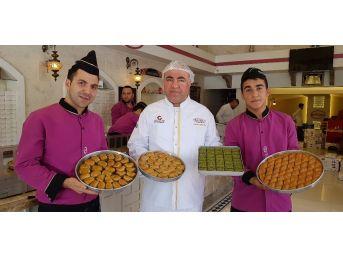 Avrupa Şampiyonasının Baklavası Gaziantep'ten