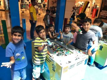 Çocuklar Lego Festivali'nde Buluştu
