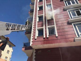 Kahramanmaraş'ta Otelde Yangın Paniği