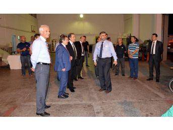 Sağlık Bakanlığı Müsteşar Yardımcısı Prof. Dr. Ünal Kayseri'yi Ziyaret Etti