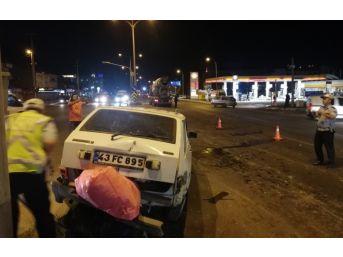 Beton Mikseri İle Otomobil Çarpıştı: 9 Yaralı