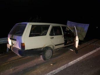 Çavdarhisar'da Trafik Kazası: 1 Yaralı