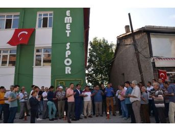 Emetspor'un Hizmet Binası Ve Lokali Hizmete Sunuldu