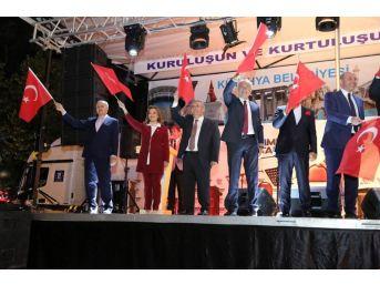 Kütahyalılar, 15 Temmuz'un İkinci Yıl Dönümünde Zafer Meydanı'nda Buluştu