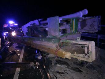 Sondaj Aracı Yan Yattı: 2 Ölü