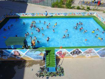 Yüzme Kursuna 3 Bin Çocuk Başvurdu