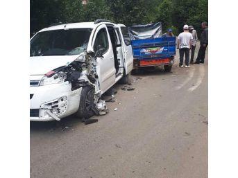 Ordu'da 'patpat' Kazası: 1 Yaralı
