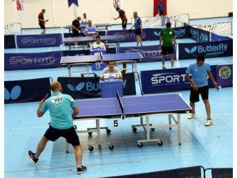16. Kuruluşlararası Masa Tenisi Türkiye Şampiyonası Başladı