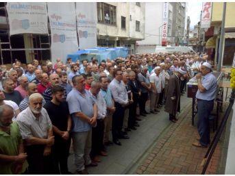 Vakfıkebir'de Meydana Gelen Kazada Hayatını Kaybeden Serhan Akyol Toprağa Verildi