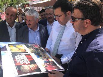 """Bahçesaray'da """"sündüz Katliamı"""" Sergisi"""