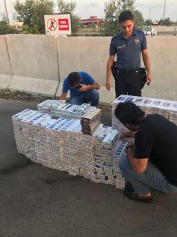 6 Bin 400 Paket Kaçak Sigara Ele Geçirildi