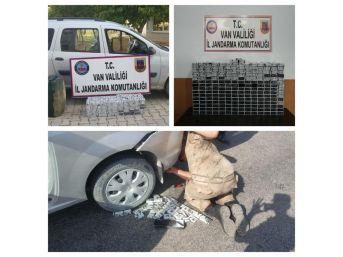 Jandarmadan Kaçak Sigara Ve Akaryakıt Operasyonu