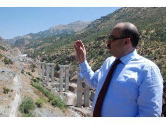 Bitlis-diyarbakır Kara Yolunda Çalışmalar Devam Ediyor
