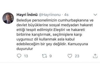 Şişli Belediye Başkanı Korumasından Cumhurbaşkanı'na Küfürlü Tweet Mahkemelik