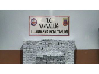 İpekyolu Ve Çaldıran'da 8 Bin 571 Kaçak Sigara Ele Geçirildi