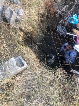 Kuyuda Mahsur Kalan Yavru Köpekler İtfaiye Tarafından Kurtarıldı