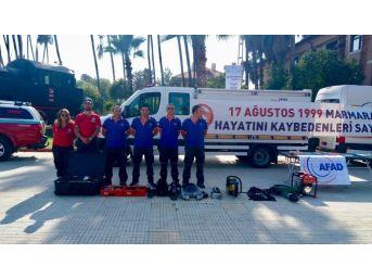 Afad 17 Ağustos Depremi'nin Yıl Dönümünde Adanalıları Bilinçlendirdi