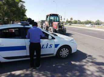Aksaray'da Tarımsal Araçların Trafiğe Çıkışı Yasaklandı