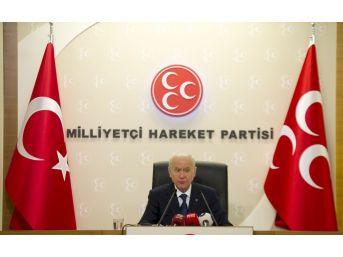 Mhp Lideri Bahçeli'den Abd'ye Sert Dolar Açıklaması (2)