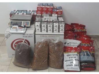 Alanya'da Kaçak Tütün Denetimi
