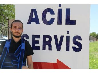 Antalyalı Gazeteci Darp Edildi