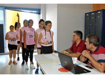 Adü'de Spor Bilimleri Özel Yetenek Sınavına Yoğun İlgi