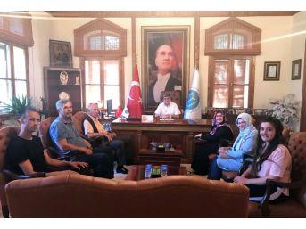 Başkan Can 'halk Günü'nde Vatandaşları Ağırladı