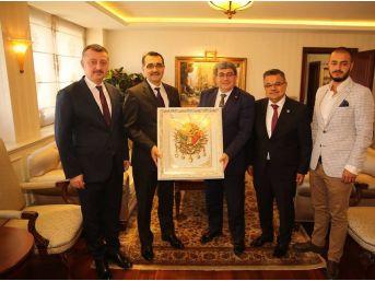 Başkan Can'ın Ankara Temasları