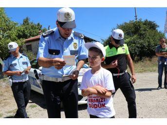 Bolu'da, Kırmızı Düdük Uygulaması Yapıldı