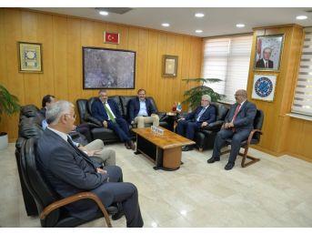 Bursalı Milletvekillerinden Buü'yü Ziyaret