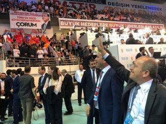 Ak Parti Çorum Teşkilatlarından Ankara Çıkartması