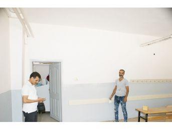 Çermik'teki Okullar Yeni Eğitim Öğretim Yılına Hazırlanıyor