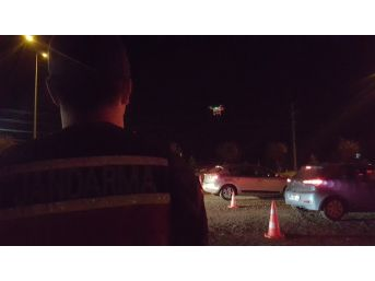 Bayram Trafiğinde Jandarmadan Köpekli, Drone'lu Uygulama