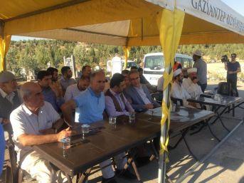 Gaziantep'te Canlı Bomba Saldırısında Ölen 57 Kişi Mevlit Okutuldu