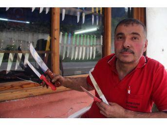Giresun'da Geleneksel Yöntemle Bıçak Yapan Son Usta