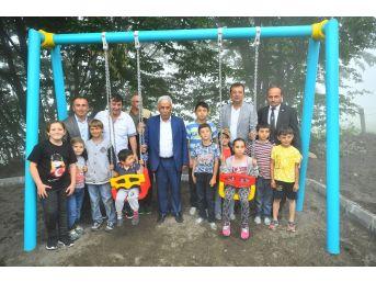 Beylikdüzü'nden Kardeş Düzköy Belediyesi'ne Gençlik Parkı