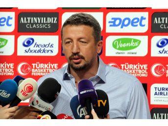 """Hidayet Türkoğlu: """"ilk Hedefimiz 2019 Dünya Kupası'na Katılmak"""""""