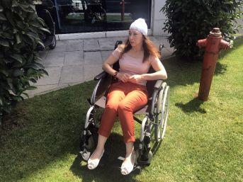 (özel) Fulya'da Motosikletin Çarpması Sonucu Kafatası Kırılan Hemşire Konuştu