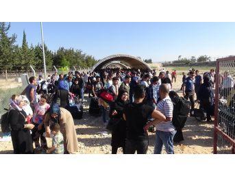 Kurban Bayramı İçin Ülkesine Giden Suriyelilerin Sayısı 27 Bini Aştı