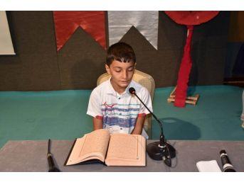 Kırıkkale'de Yaz Kur'an Kursları Sona Erdi