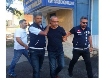 Konya'da Azeri Kadını Öldüren Galerici Antalya'da Sahte Kimlikle Yakalandı