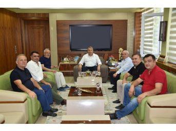 Sanayicilerden Başkan Çerçi'ye Teşekkür